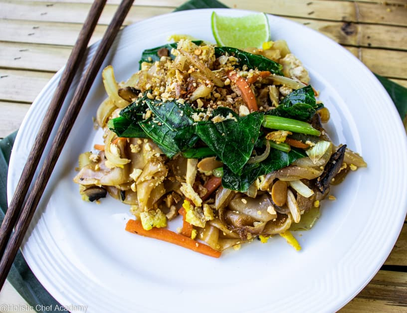 pad see ew noodles ready to eat
