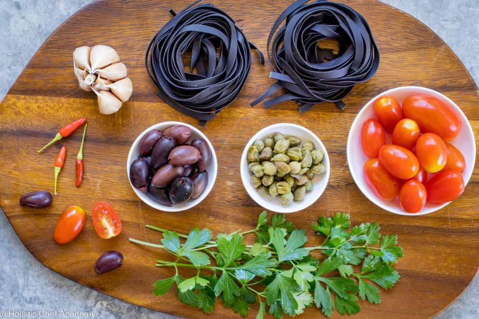 pasta puttanesco ingredients