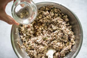 add-the-coconut-oil-to-the-bread-mix