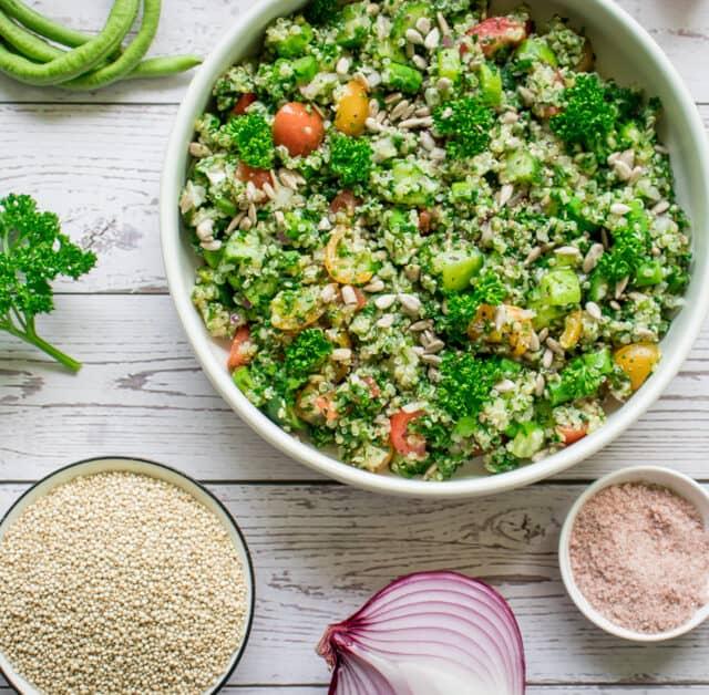 Quinoa Tabbouleh Recipe Tutorial