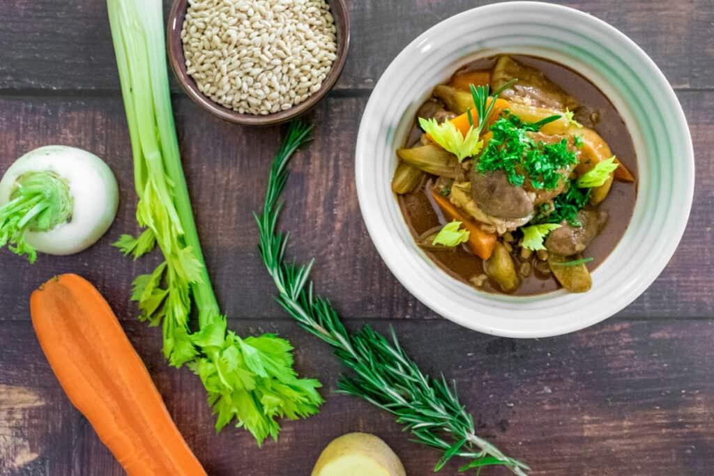 bowl-of-Irish-stew-served