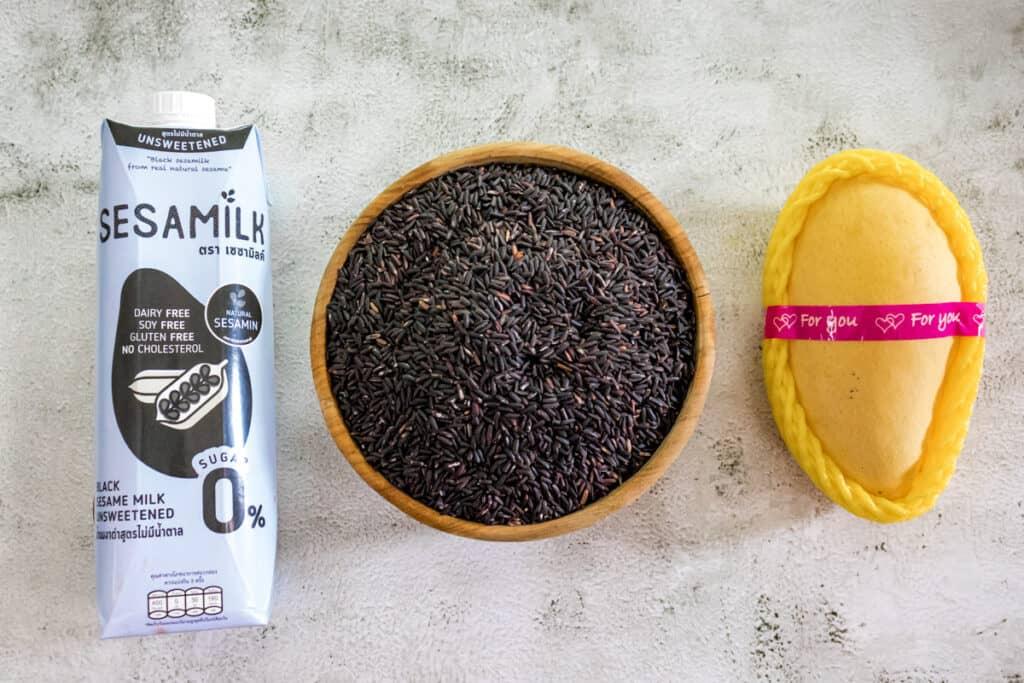 black-sesame-milk-mango-and-riceberry-ready-to-cook