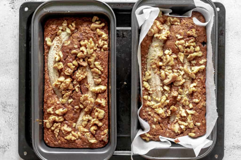 two-banana-breads-out-of-the-oven