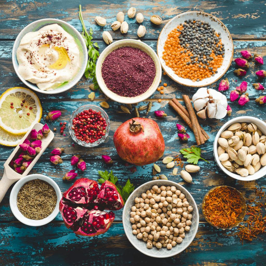 middle-eastern-food-display