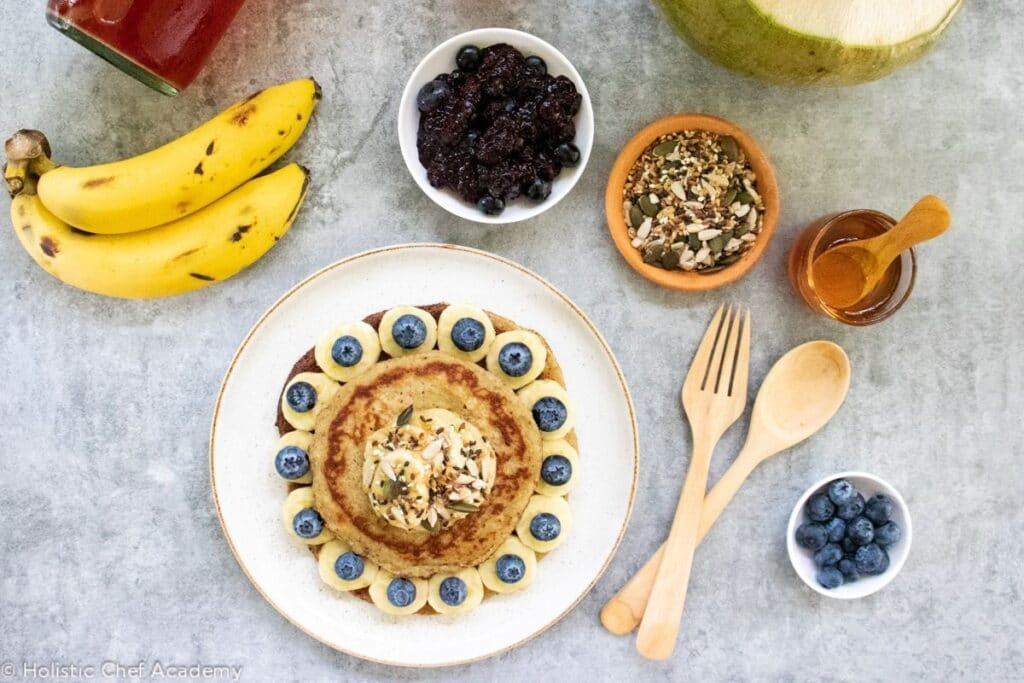 pancakes-and-garnishes-served-for-breakfast