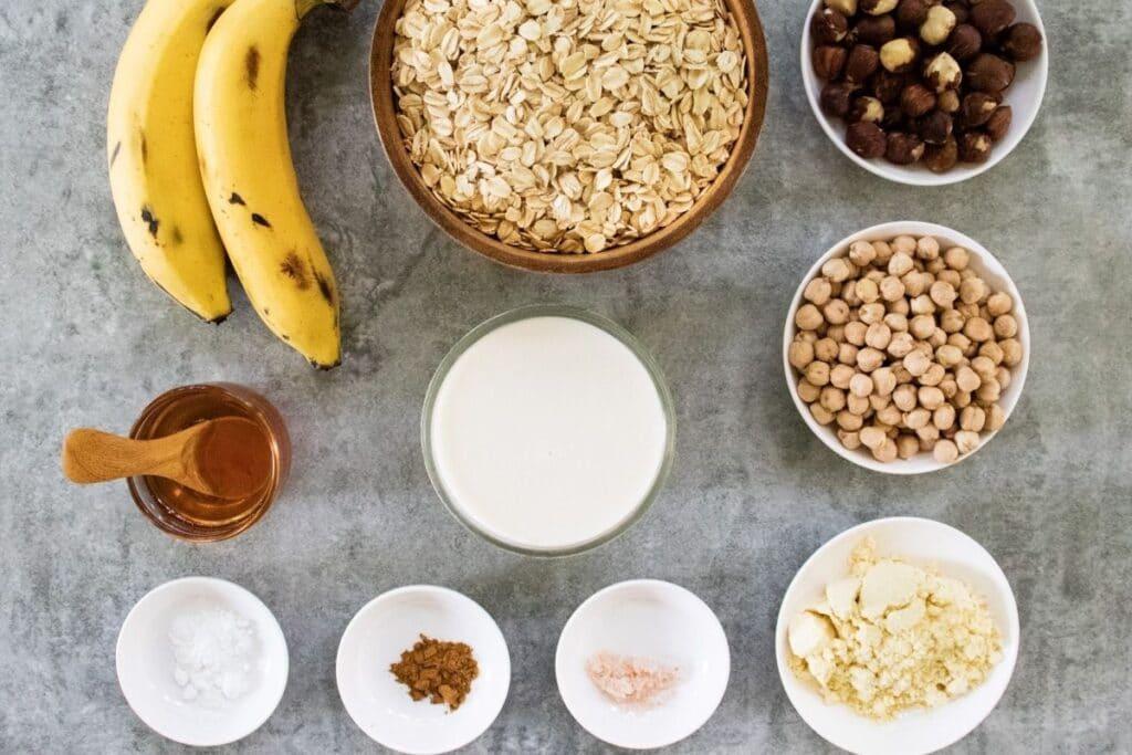 ingredients-for-vegan-protein-pancakes