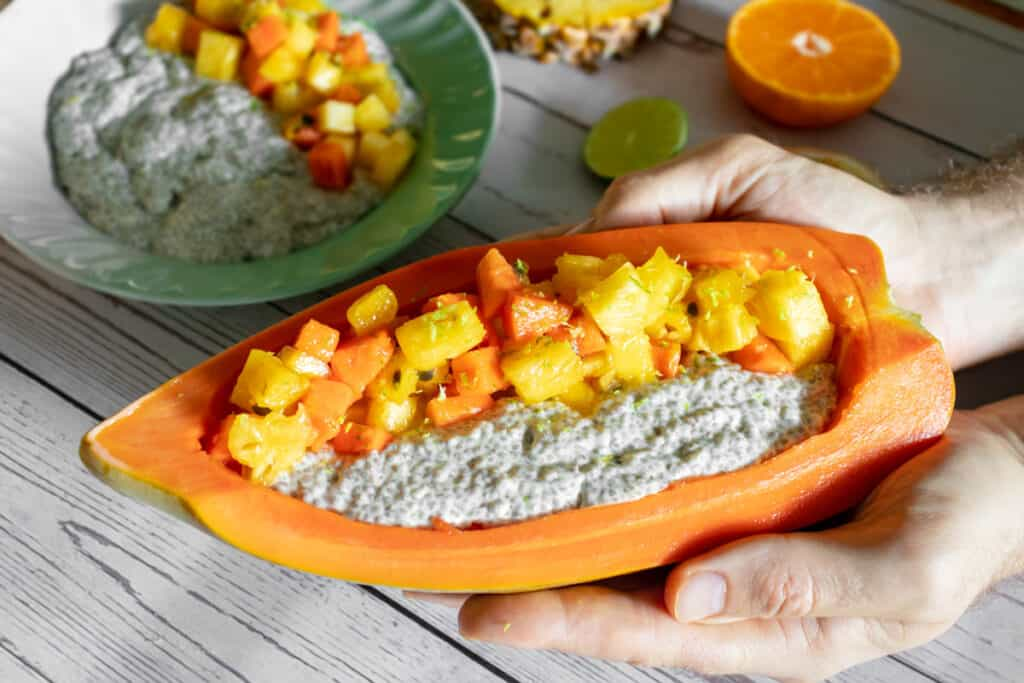 coconut-chia-pudding-served-in-a-papaya