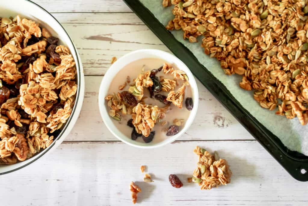 granola-served-for-breakfast