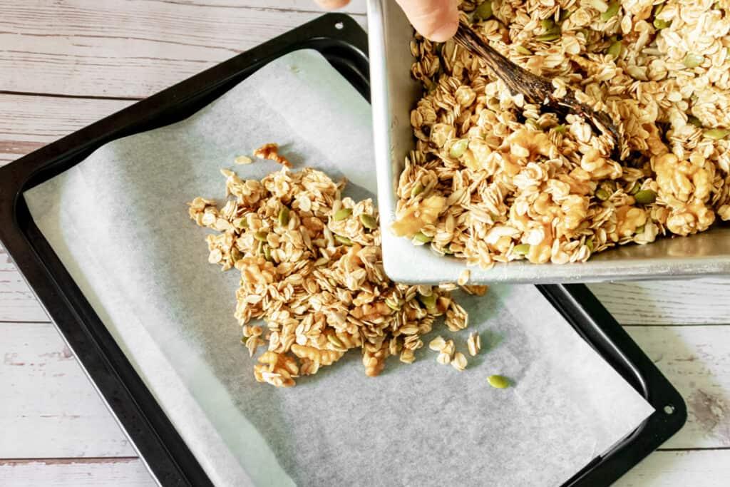 baking-ingredients-for-vegan-granola