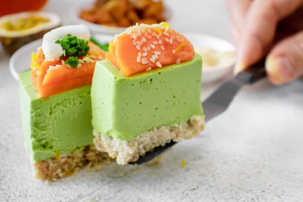green-wolffia-cheesecake-cut-into-a-slice