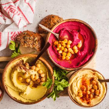 vegan-middle-eastern-food-display